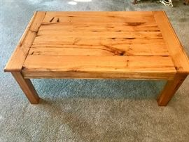 3 Piece Coffee Table Set w/ 2 End Tables Reclaimed  Wormy Chestnut from Virginia  $650 + S/H available