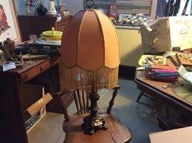 Vintage Victorian lamp