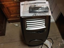 New Lasko heater with remote