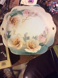 Hand painted dish