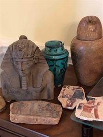 Assorted Egyptian Style Relics