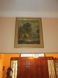 Unknown artist oil on canvas 1850