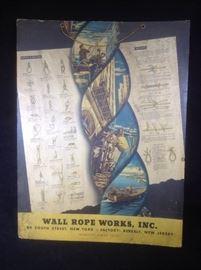 Wall rope works advertising