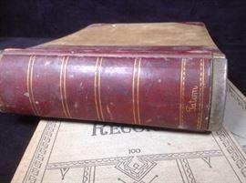 1930s accounting books