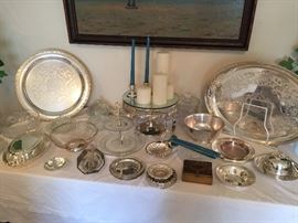 Sterling & English Plate