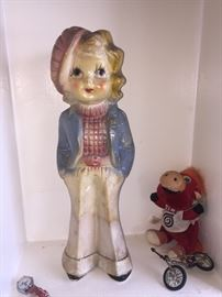 Chalkware Doll