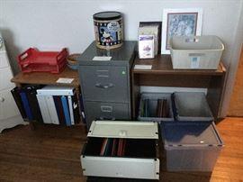 files, shelving file boxes, et