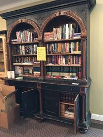 Gorgeous Arched Bookcase Cabinet