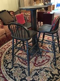 Hi Top Bar Table with 4 Chairs