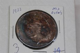 1922 Peace Dollar MS