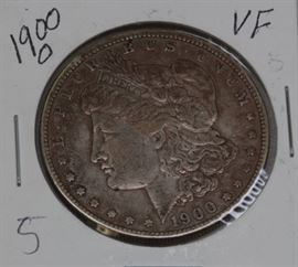 1900 O Morgan Silver Dollar