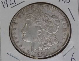1921 Morgan Dollar MS