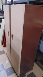steel 2 door cabinet