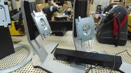 Dell monitor stands and speakers