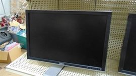 Pair of Dell computer monitors