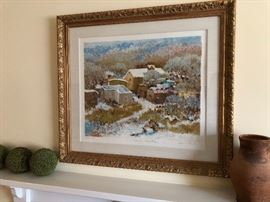 "Signed and numbered ""Many Winters"" by Dane Clark"