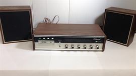 "Unisonic Vintage 8 Track player FM stereo The ""Chippendale"""