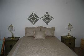 Super quality box mattress and end tables
