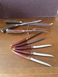 Stag Horn Knives