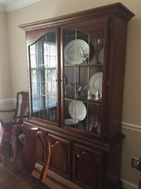 American Drew China Cabinet...beautiful finish