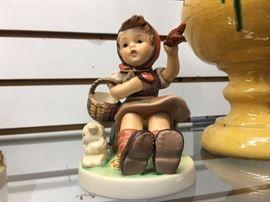 """Farewell"" Hummel figurine"