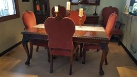 Amazing Formal Dining Table & Chairs