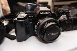 Minolta 7000 Camera