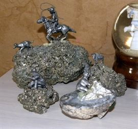 Pewter Figurines