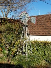 Large Rustic Windmill
