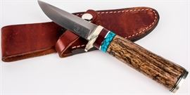Lot 137 - ENZO K. Schmutz Nevada Hunting Skinner Knife