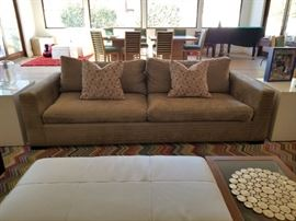 Custom down sofa