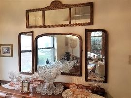 Beautiful Antique Wall Mirrors