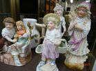 German Bisque Figurines