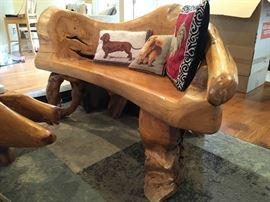 Unique Teak wood living room furniture