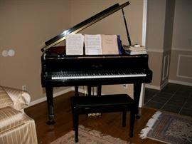 Parlour grand piano