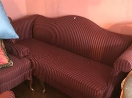 Sofa with 2 matching arm chairs