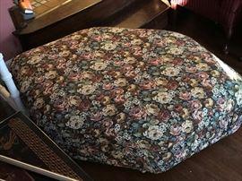 Oversized ottoman