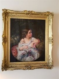 Gorgeous Original Oil in Beautiful frame