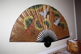 Nice fan decor