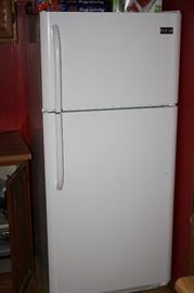 1 yr. old Frigidaire 18 Cubic Foot Refrigerator Freezer with ice maker