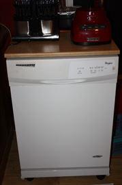 1 yr old Whirlpool Portable Dishwasher