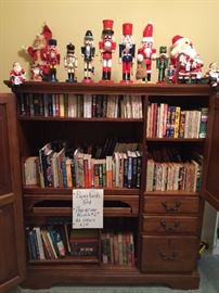 Nutcrackers, Lots of Books, Computer Amoirre