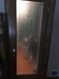 Beautiful Etched interior  doors
