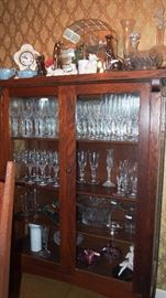 Faberge Stemware & Franklin Mint Cat Collection
