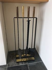 BUY IT NOW! George Nelson fireplace tools Pilgrim Mfg. Co.