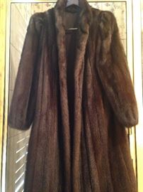 Gorgeous full-length (consigned) mink coat