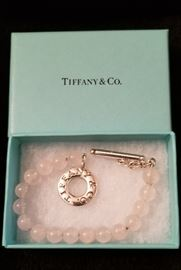 Tiffany & Co. Rose Quartz Bracelet