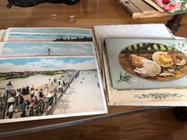 1930s Postcard Collection Lakehurst NJ Naval Station Zeppelins