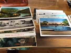 1930s Postcard Collection Lakehurst NJ Naval Station Zeppelins and NJ Sites