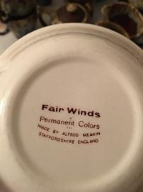 Fair Winds Staffordshire England